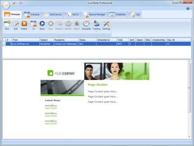 Free Bulk Mailer 8.4 screenshot