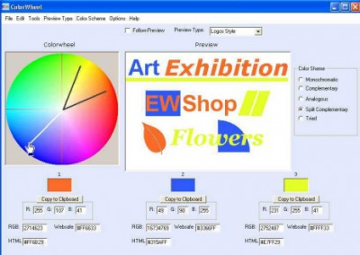 Free Colorwheel 1.5 screenshot