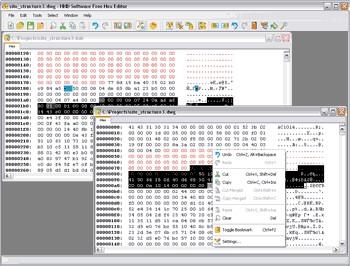 Free Hex Editor 3.12 screenshot