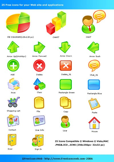 Free Icons Pack 2.0 screenshot
