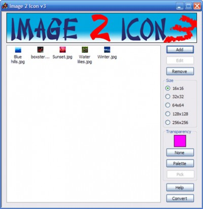 free Image 2 Icon Converter 3.2 screenshot