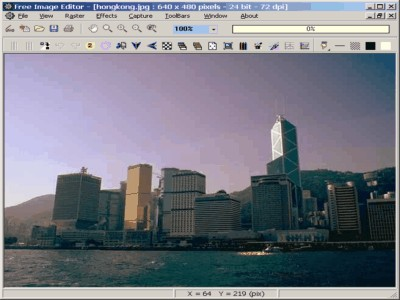 Free Image Editor 2.4.75 screenshot