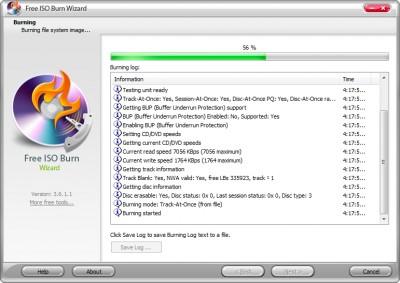 Free ISO Burn Wizard 8.2.1 screenshot