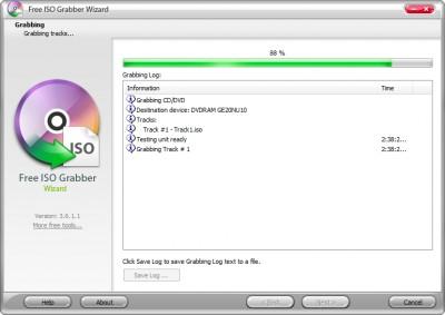 Free ISO Grabber 8.1.8 screenshot