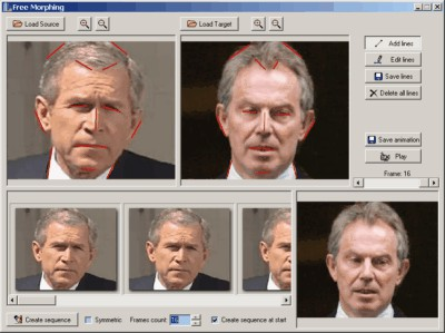 Free Morphing 2.1.86 screenshot