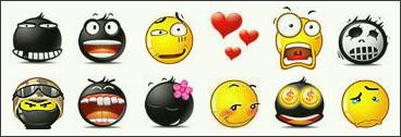 Free MSN Emoticons Pack 1 1.5 screenshot