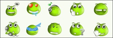 Free MSN Emoticons Pack 5 1.5 screenshot
