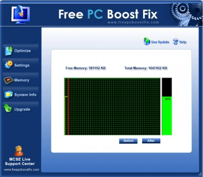 Free PC Boost Fix 2.1.0.0 screenshot