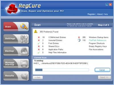 Free Registry Cure 2010 2013.03.1 screenshot