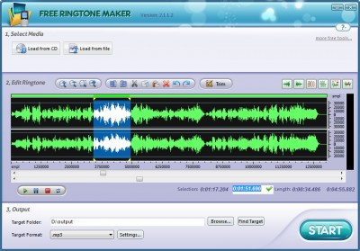 Free Ringtones  Phones on Free Ringtone Maker 2 4 2 Review And Download