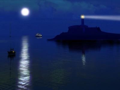 Free Sea Lighthouses 3D Screensaver 1.0 screenshot