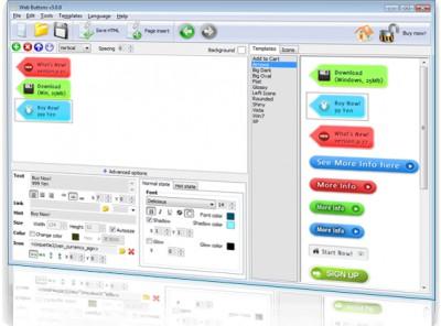 Free-Web-Buttons.com 2.5 screenshot