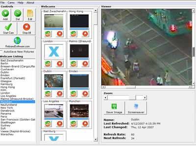 Free Webcam Watcher 1 screenshot