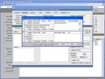Freeware HelpDesk CentreDesk Group 6.101 screenshot