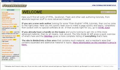 FreeWebsite 1.0 screenshot