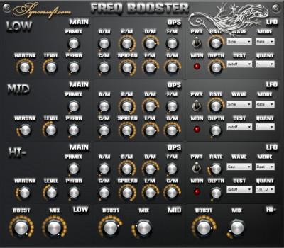 Freq Booster 1.2 screenshot