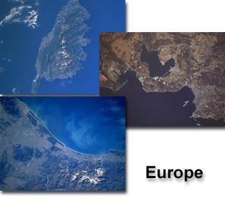 From Space to Earth - Europe Screen Saver 3.0 screenshot