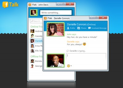 fTalk 3.0 screenshot