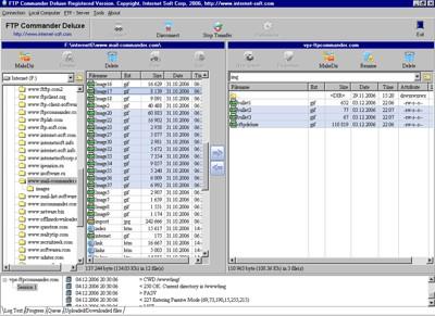 FTP Commander Deluxe 9.21 screenshot