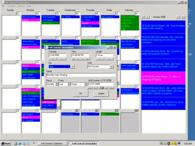 Full Contact Calendar 2.0.58 screenshot