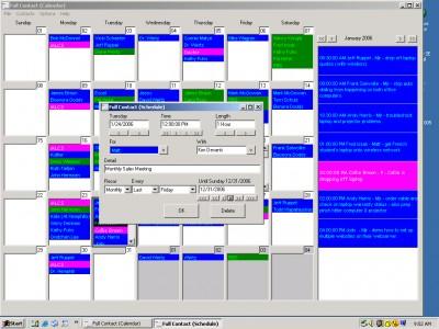 Full Contact Calendar 2.0.58 screenshot