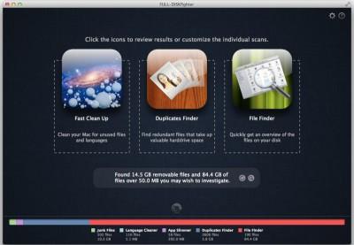 FULL-DISKfighter Mac 1.3.0 screenshot