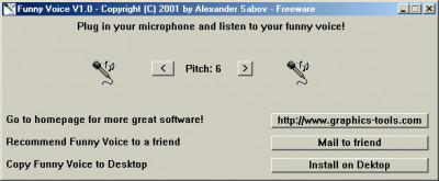 Funny Voice 1.4 screenshot