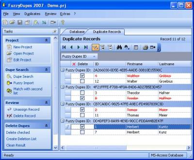 FuzzyDupes 2007 5.7.5 screenshot