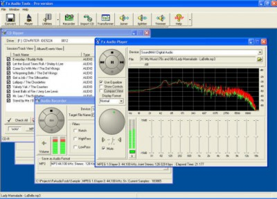 Fx Audio Tools 7.3.7 screenshot