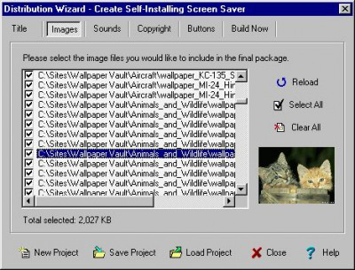 FX Saver Toolbox Professional 2.0c screenshot