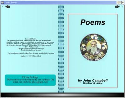 Gaelic Poems 3.2 screenshot