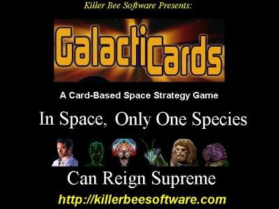 Galacticards (MAC OSX 10.3+) 1.00 screenshot