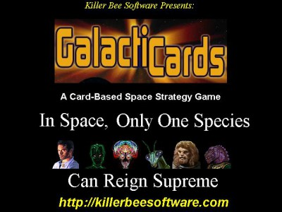 Galacticards (Windows) 1.00 screenshot