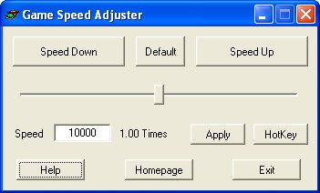 Game Speed Adjuster 1.0 screenshot