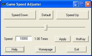 Game Speed Adjuster 1.0 screenshot
