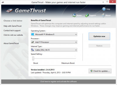 GameThrust 2.5.26.201 screenshot