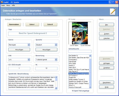 GaMiC 1.1.1.1 screenshot