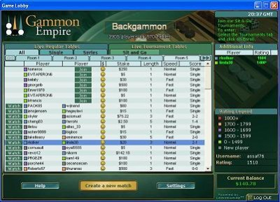 GammonEmpire 2 screenshot