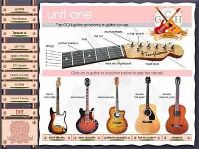 GCH Guitar Academy course (unit 1) 2.6 screenshot