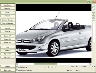 GdViewer ActiveX - Site License 3.4.5 screenshot