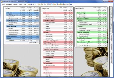 GeldProfi Haushaltsbuch 3.06.2 screenshot