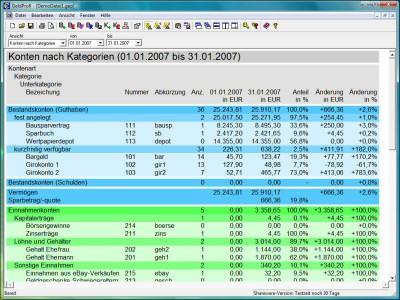 GeldProfi 2.11.1 screenshot