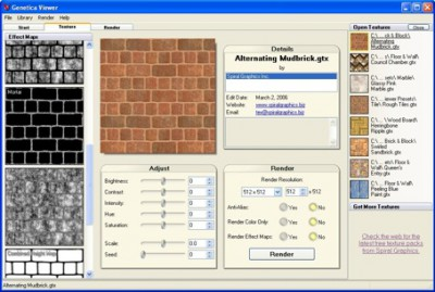 Genetica Viewer 2.5 screenshot