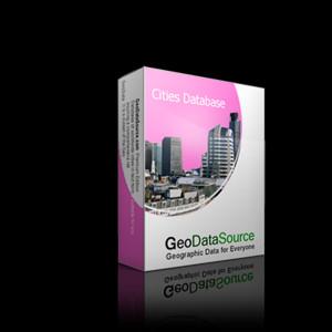 GeoDataSource World Cities Database (Free Edition) January.20 screenshot