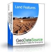 GeoDataSource World Land Features Database (Premiu October.20 screenshot