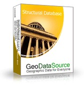 GeoDataSource World Structural Features Database ( October.20 screenshot