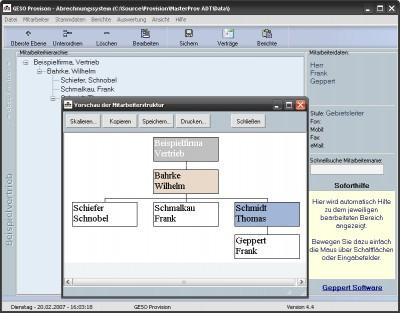 GESO Provision 4 screenshot