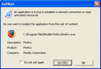 GeSWall Freeware 2.6 screenshot