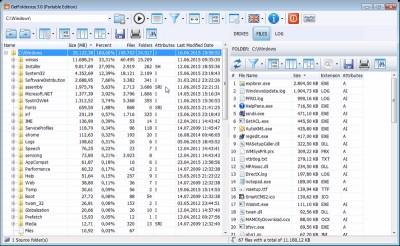 GetFoldersize 3.1.24 screenshot