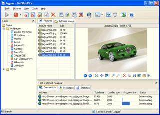 GetWebPics 2.8 screenshot